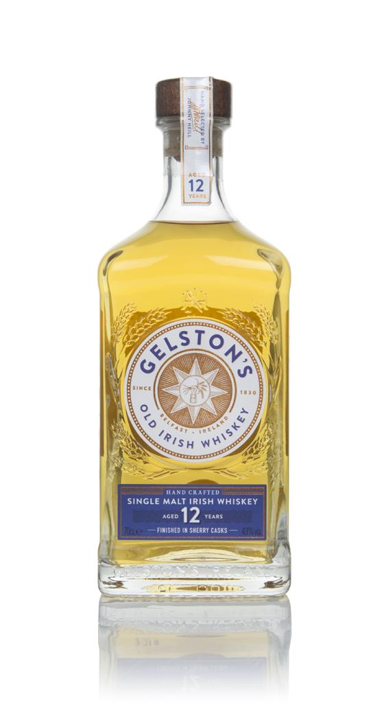 Gelstons 12 Year Old Sherry Cask Finish Single Malt Whiskey