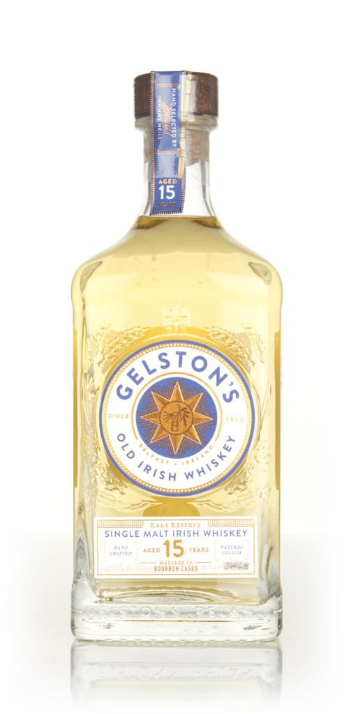 Gelstons 15 Year Old Single Malt Whiskey