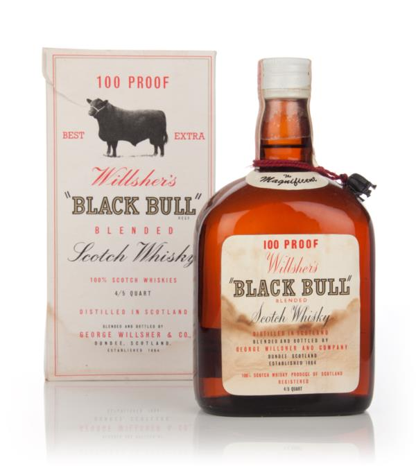 Willshers Black Bull - late 1960s Blended Whisky