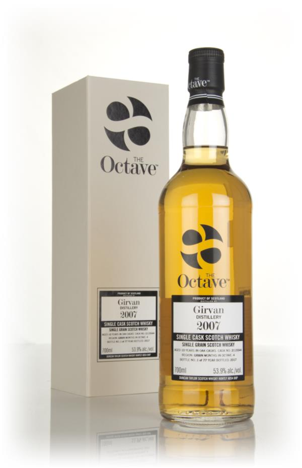 Girvan 10 Year Old 2007 (cask 2115544) - The Octave (Duncan Taylor) Grain Whisky