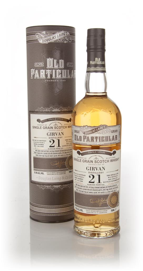 Girvan 21 Year Old 1994 (cask 11003) - Old Particular (Douglas Laing) Grain Whisky