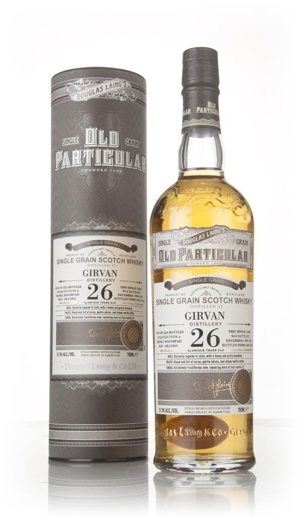Girvan 26 Year Old 1989 (cask 11061) - Old Particular (Douglas Laing) Grain Whisky