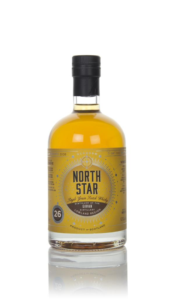 Girvan 26 Year Old 1992 - North Star Spirits Grain Whisky