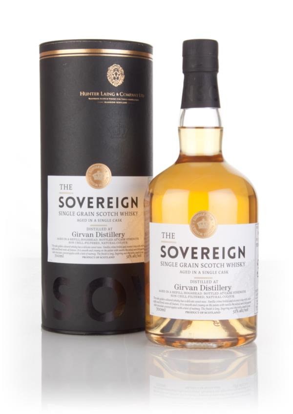 Girvan 36 Year Old 1979 (cask 12276) - The Sovereign (Hunter Laing) 3c Grain Whisky 3cl Sample
