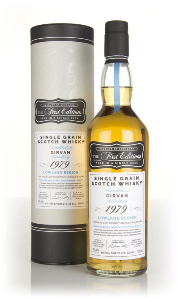 Girvan 38 Year Old 1979 (cask 14749) - The First Editions (Hunter Lain Grain Whisky