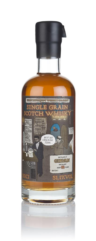 Girvan 52 Year Old - Batch 1 (That Boutique-y Whisky Company) 3cl Samp Grain Whisky 3cl Sample