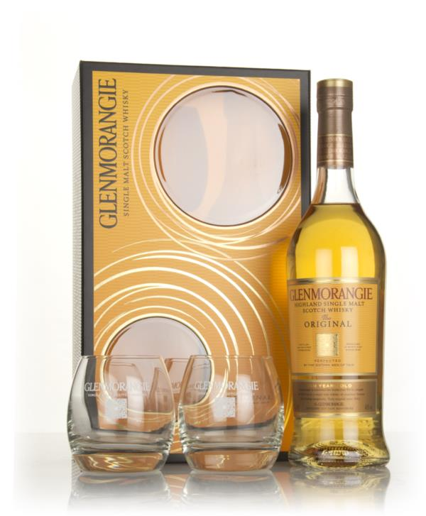 Glenmorangie 10 Year Old - The Original Gift Pack with 2x Glasses Single Malt Whisky