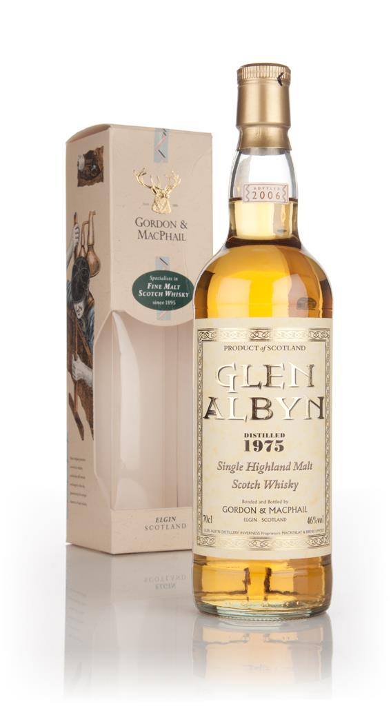 Glen Albyn 1975 (bottled 2006) (Gordon and MacPhail) Single Malt Whisky