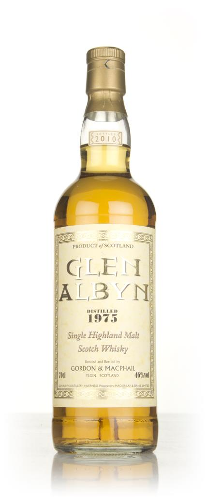 Glen Albyn 1975 (bottled 2010) - Gordon and MacPhail Single Malt Whisky