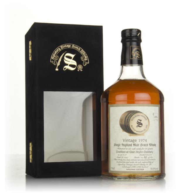 Glen Albyn 30 Year Old 1974 (cask 1597) (Signatory) Single Malt Whisky