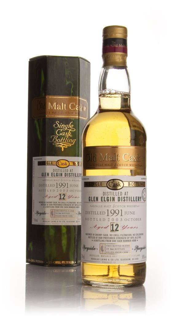 Glen Elgin 12 Year Old 1991 - Old Malt Cask (Douglas Laing) Single Malt Whisky