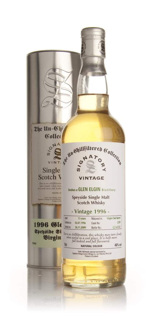 Glen Elgin 13 Year Old 1996 - Un-Chillfiltered (Signatory) Single Malt Whisky