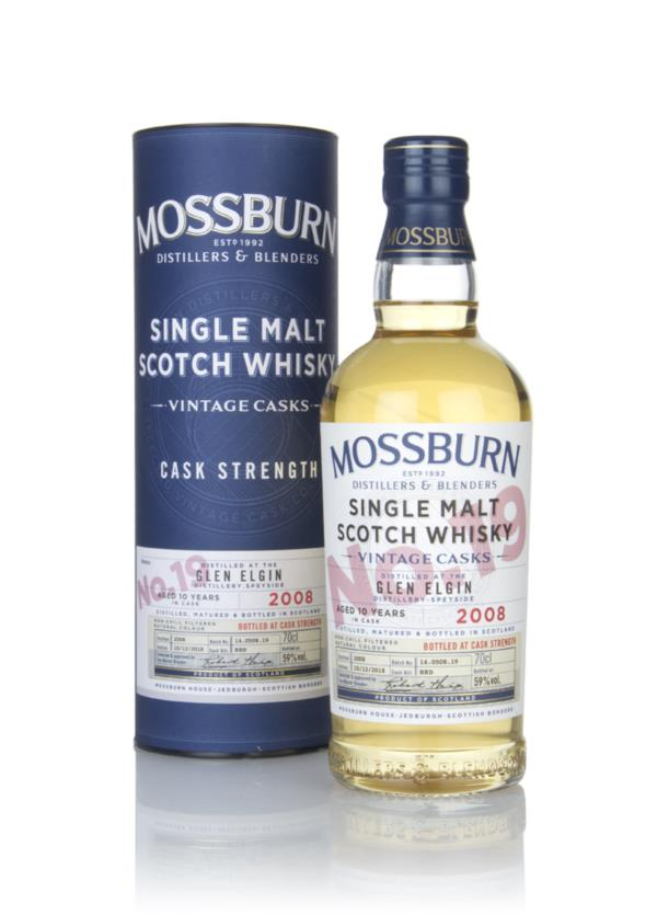 Glen Elgin 10 Year Old 2008 - Cask Strength (Mossburn) Single Malt Whisky