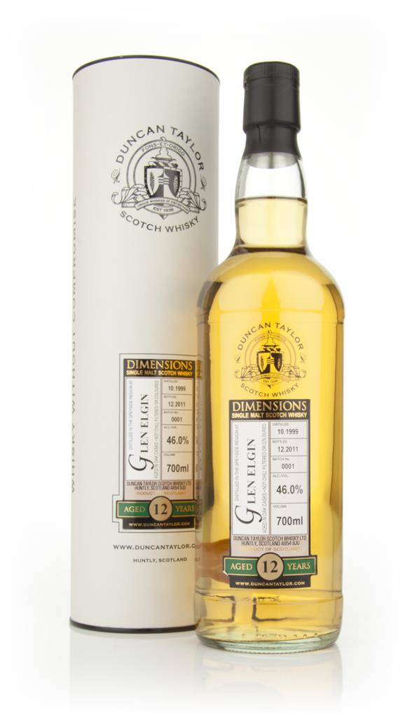 Glen Elgin 12 Year Old 1999 - Dimensions (Duncan Taylor) Single Malt Whisky