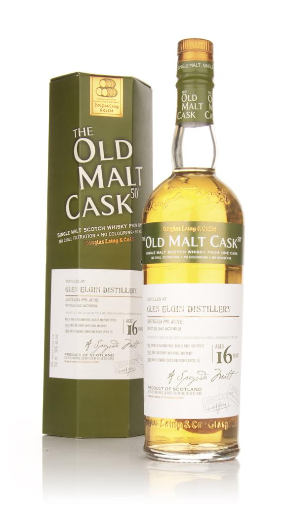 Glen Elgin 16 Year Old 1991 Cask 3927 - Old Malt Cask (Douglas Laing) Single Malt Whisky