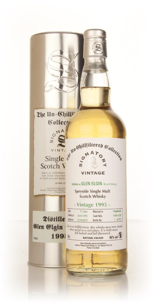 Glen Elgin 17 Year Old 1995 (casks 1149+1150) - Un-Chillfiltered (Sign Single Malt Whisky
