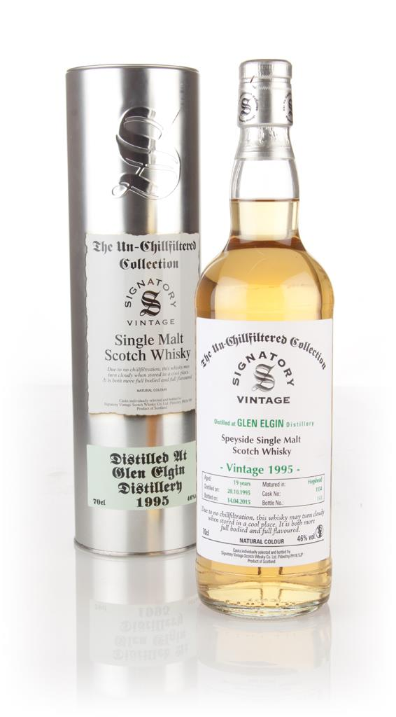 Glen Elgin 19 Year Old 1995 (cask 1154) - Un-Chillfiltered (Signatory) Single Malt Whisky