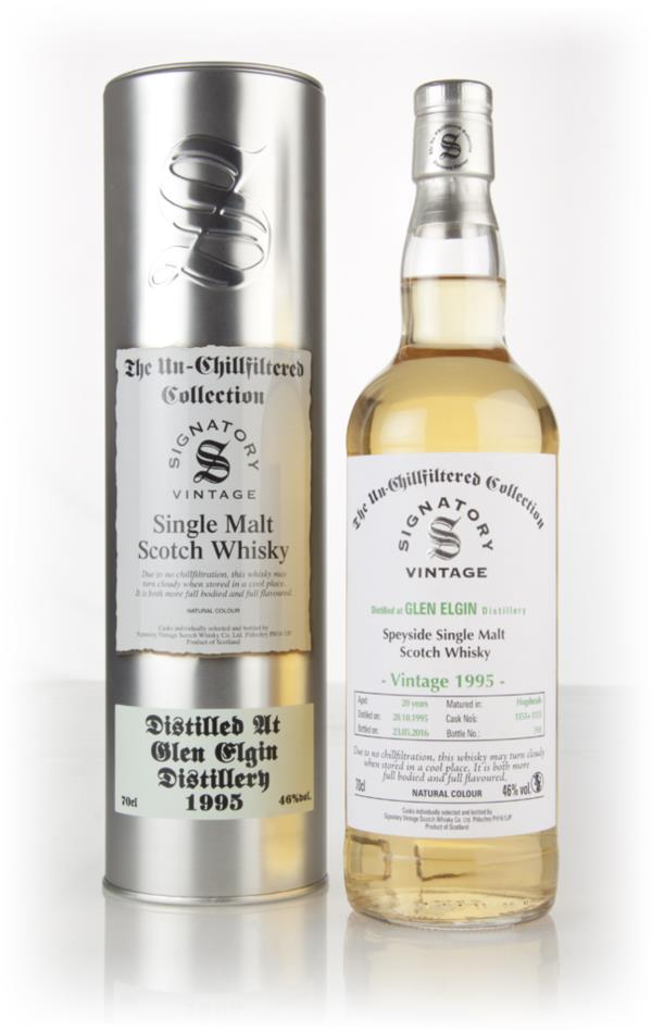 Glen Elgin 20 Year Old 1995 (cask 1151 & 1153) - Un-Chillfiltered Coll Single Malt Whisky