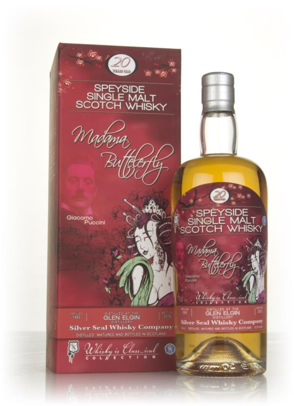 Glen Elgin 20 Year Old 1995 - Whisky is Class...ical (Silver Seal) Single Malt Whisky