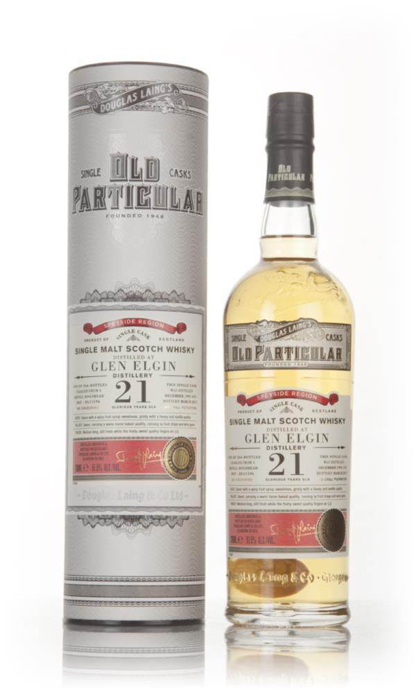 Glen Elgin 21 Year Old 1995 (cask 11596) - Old Particular (Douglas Lai Single Malt Whisky