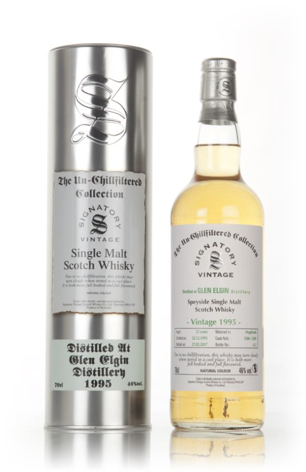 Glen Elgin 21 Year Old 1995 (cask 3248 & 3249) - Un-Chillfiltered Coll Single Malt Whisky