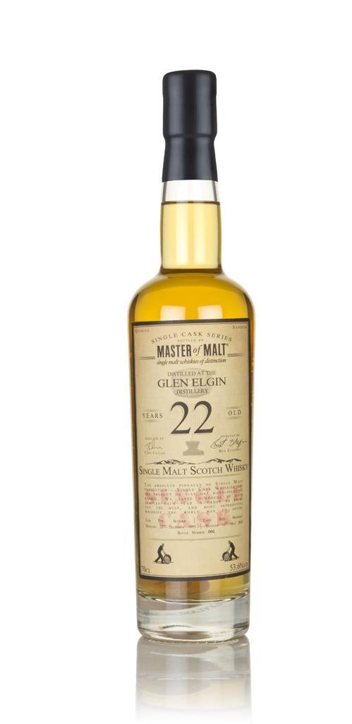 Glen Elgin 22 Year Old 1995 - Single Cask (Master of Malt) Single Malt Whisky