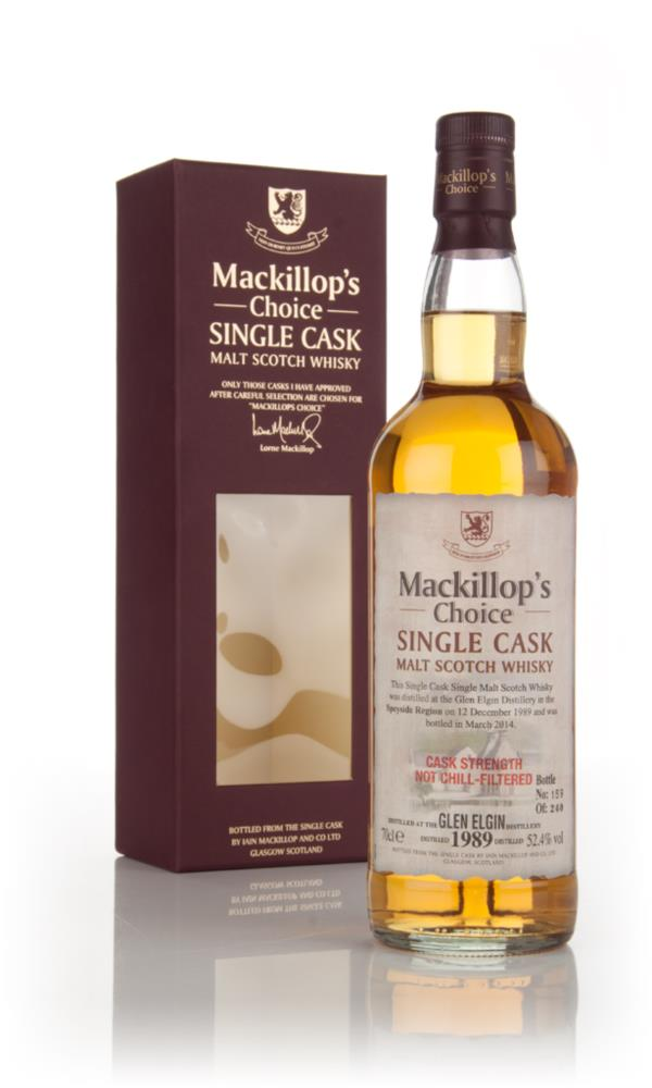 Glen Elgin 24 Year Old 1989 - Mackillops Choice 3cl Sample Single Malt Whisky
