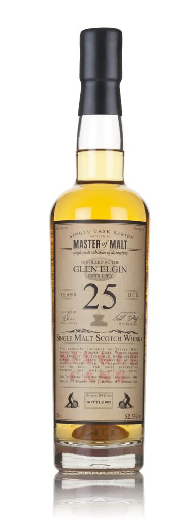 Glen Elgin 25 Year Old 1991 - Single Cask (Master of Malt) 3cl Sample Single Malt Whisky