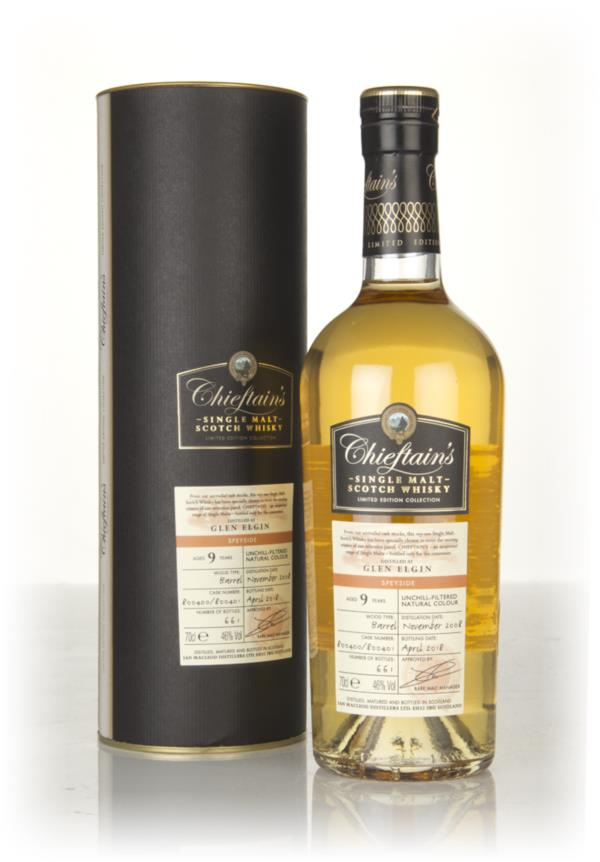 Glen Elgin 9 Year Old 2008 (casks 800400 & 800401) - Chieftains (Ian Single Malt Whisky