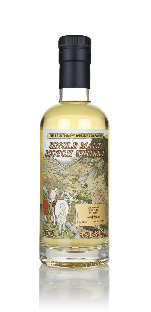 Glen Elgin 12 Year Old (That Boutique-y Whisky Company) Single Malt Whisky