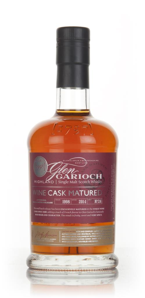 Glen Garioch 15 Year Old 1998 Wine Cask Matured Single Malt Whisky