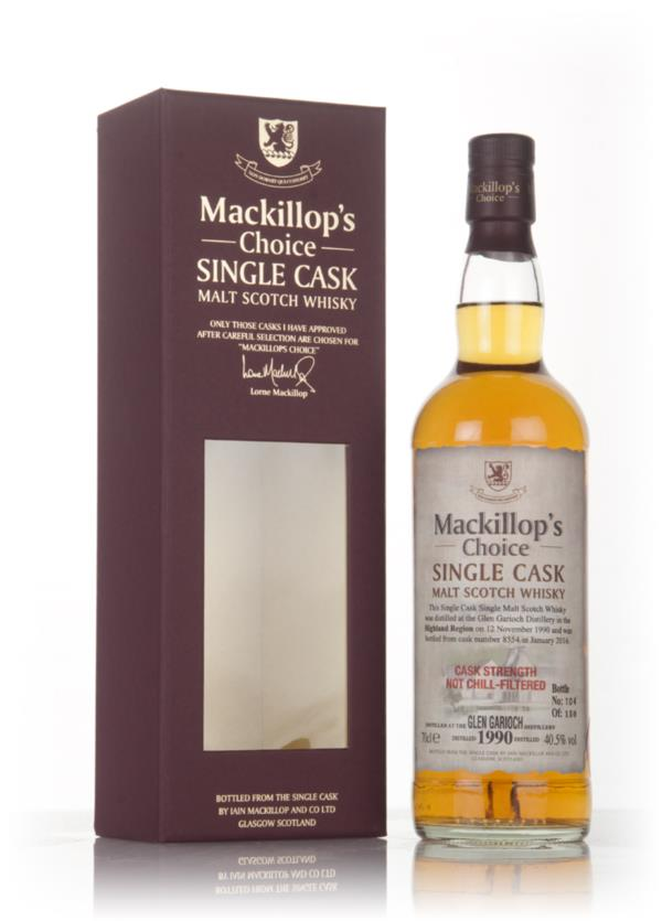 Glen Garioch 25 Year Old 1990 (cask 8554) - Mackillops Choice 3cl Sam Single Malt Whisky 3cl Sample