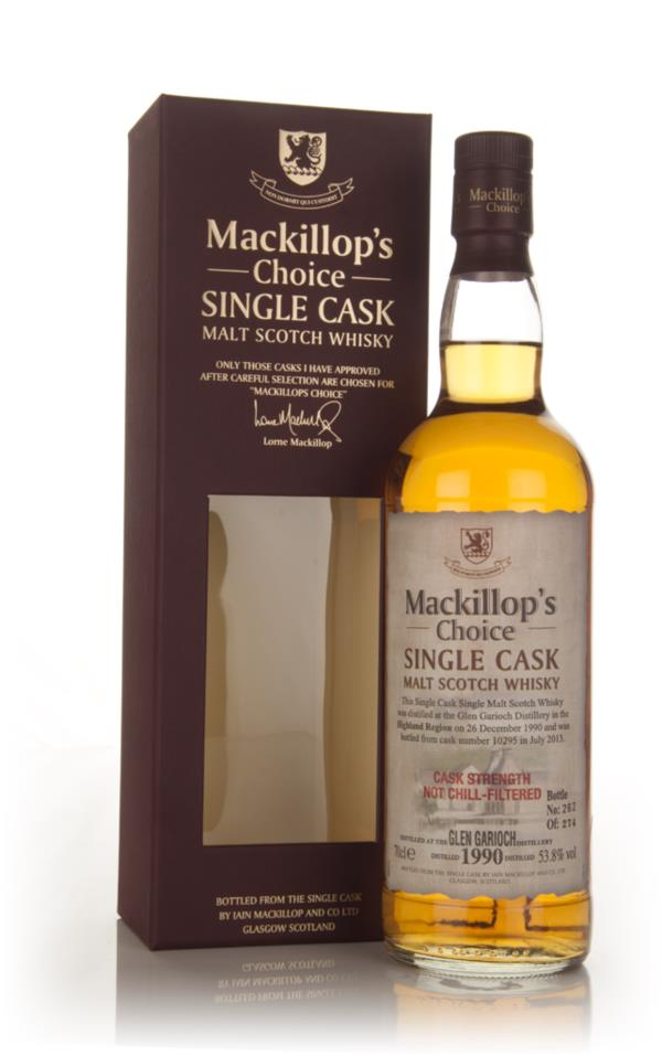 Glen Garioch 22 Year Old 1990 (cask 10295) - Mackillops Choice 3cl Sa Single Malt Whisky 3cl Sample