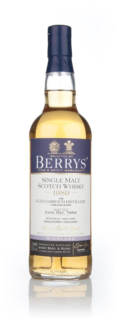 Glen Garioch 24 Year Old 1989 (cask 7854) (Berry Bros. & Rudd) Single Malt Whisky