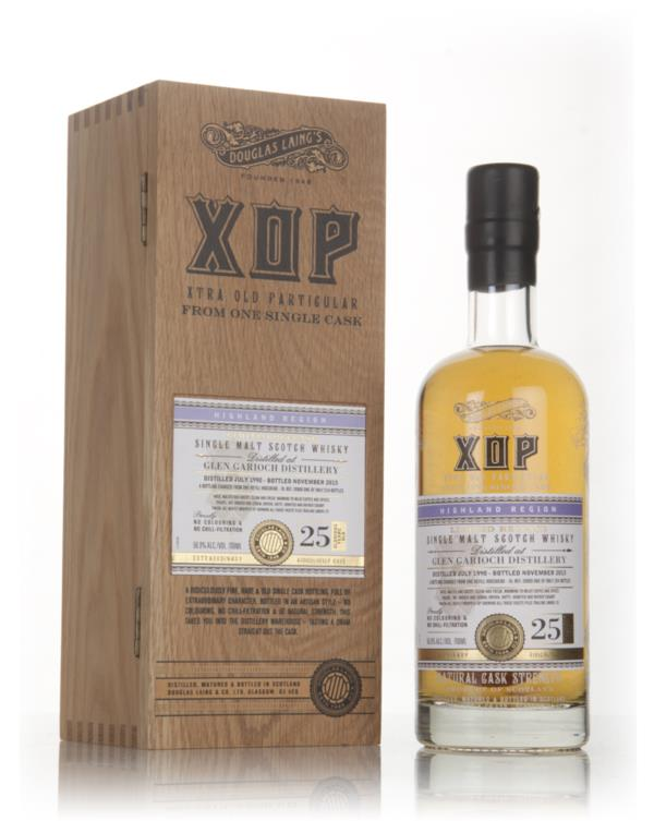 Glen Garioch 25 Year Old 1990 (cask 10989) - Xtra Old Particular (Doug Single Malt Whisky 3cl Sample