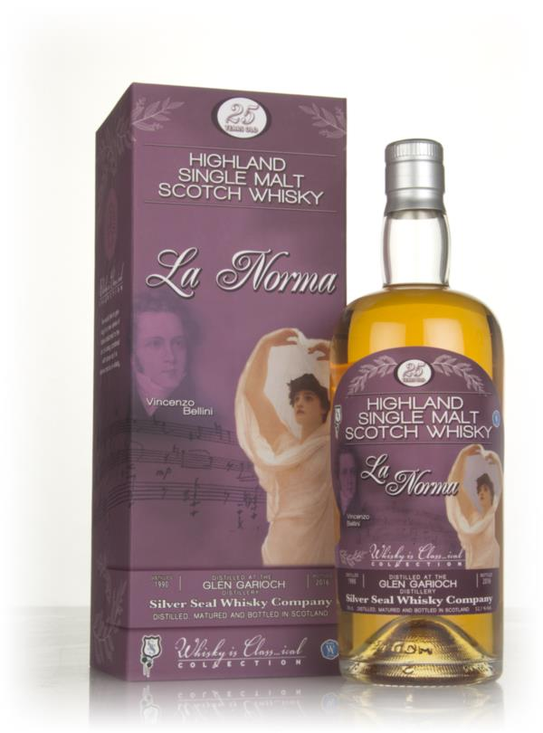 Glen Garioch 25 Year Old 1990 - Whisky is Class...ical (Silver Seal) Single Malt Whisky