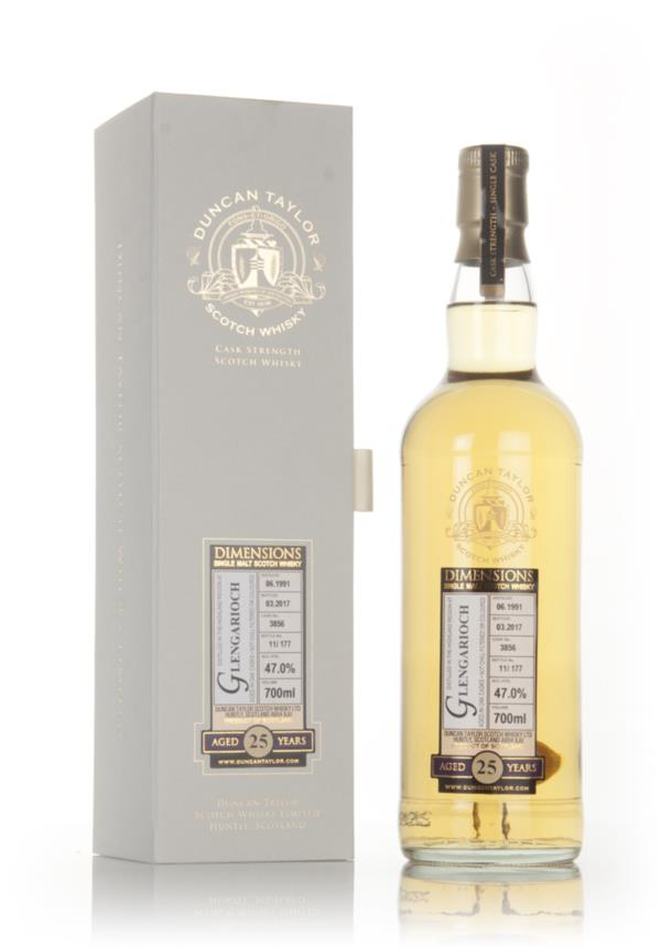 Glen Garioch 25 Year Old 1991 (cask 3856) - Dimensions (Duncan Taylor) Single Malt Whisky