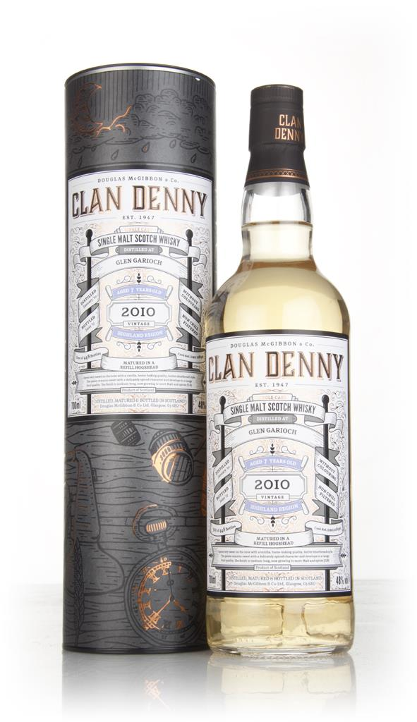 Glen Garioch 7 Year Old 2010 (cask 11892) - Clan Denny (Douglas Laing) Single Malt Whisky