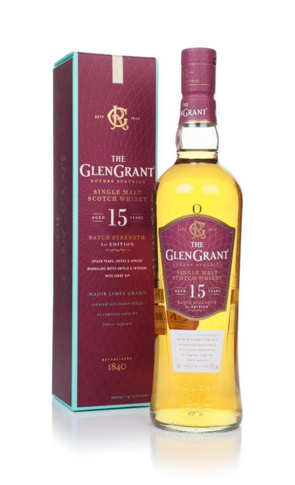 Glen Grant 15 Year Old Batch Strength Single Malt Whisky