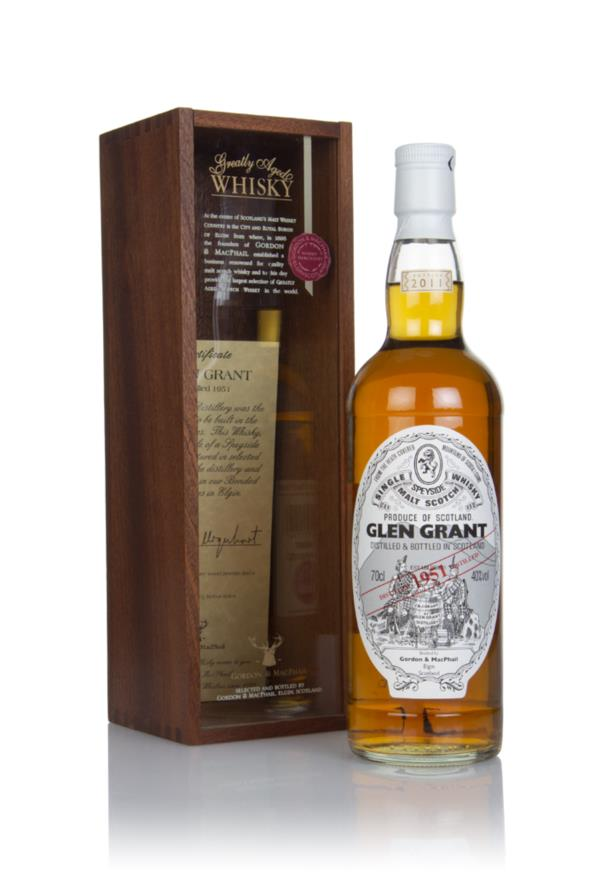 Glen Grant 1951 (bottled 2011) (cask 3198) - (Gordon & MacPhail) Single Malt Whisky