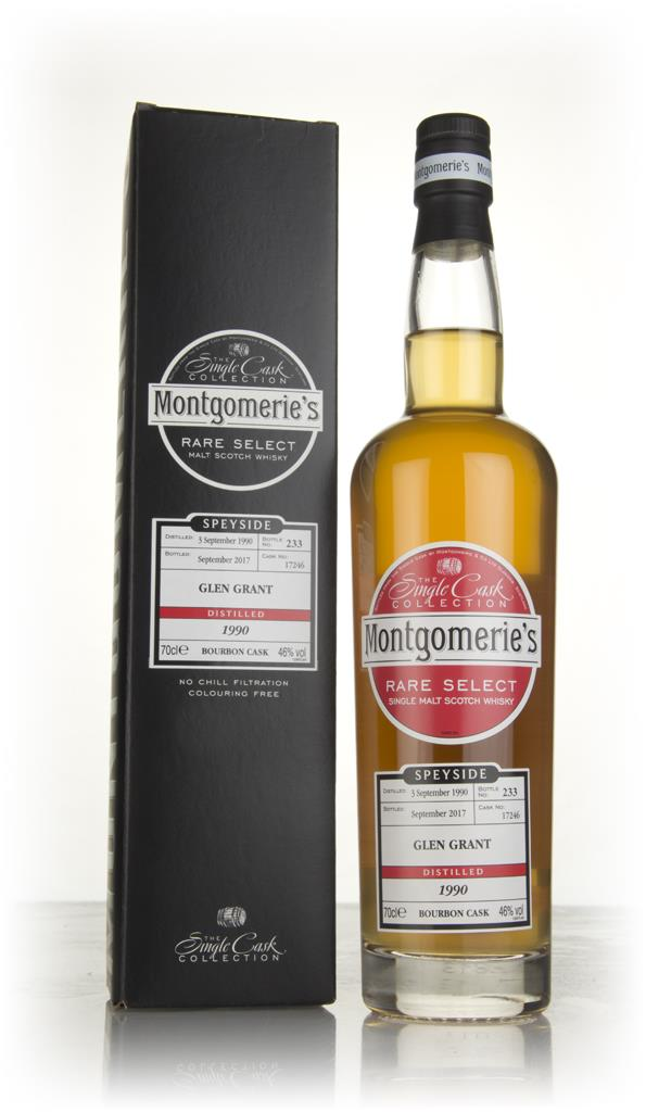 Glen Grant 1990 (cask 17246) (bottled 2017) - Rare Select (Montgomerie Single Malt Whisky 3cl Sample