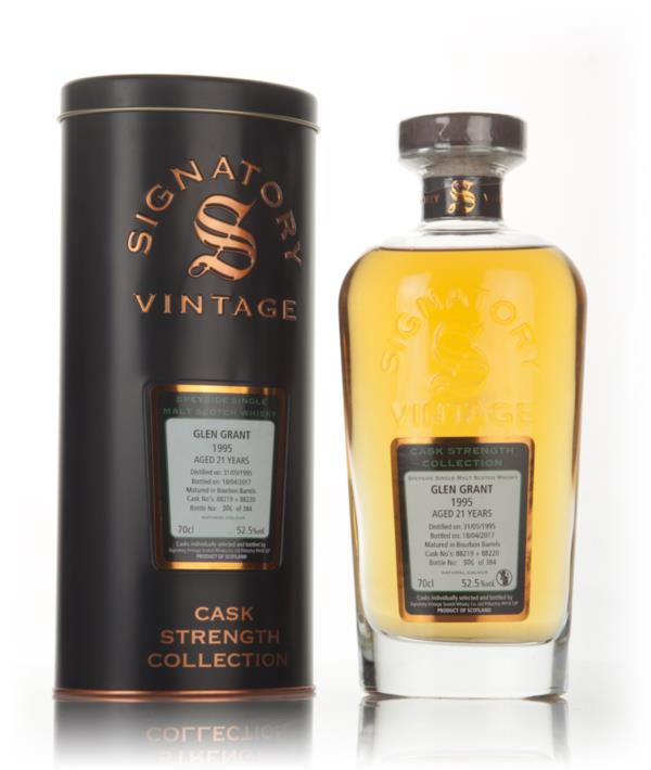 Glen Grant 21 Year Old 1995 (casks 88219 & 88220) - Cask Strength Coll Single Malt Whisky