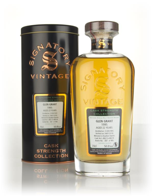 Glen Grant 22 Year Old 1995 (casks 88213 & 88214) - Cask Strength Coll Single Malt Whisky
