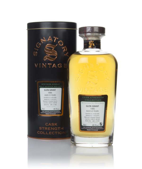 Glen Grant 23 Year Old 1995 (casks 88187 & 88188) - Cask Strength Coll Single Malt Whisky