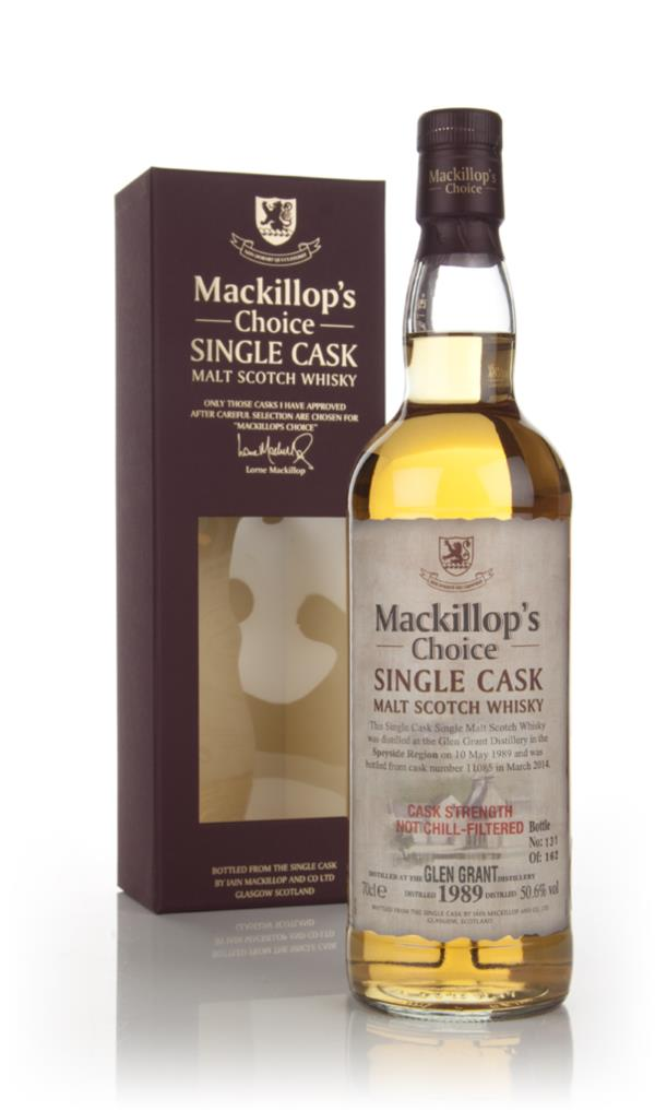 Glen Grant 24 Year Old 1989 (cask 11085) - Mackillops Choice 3cl Samp Single Malt Whisky 3cl Sample
