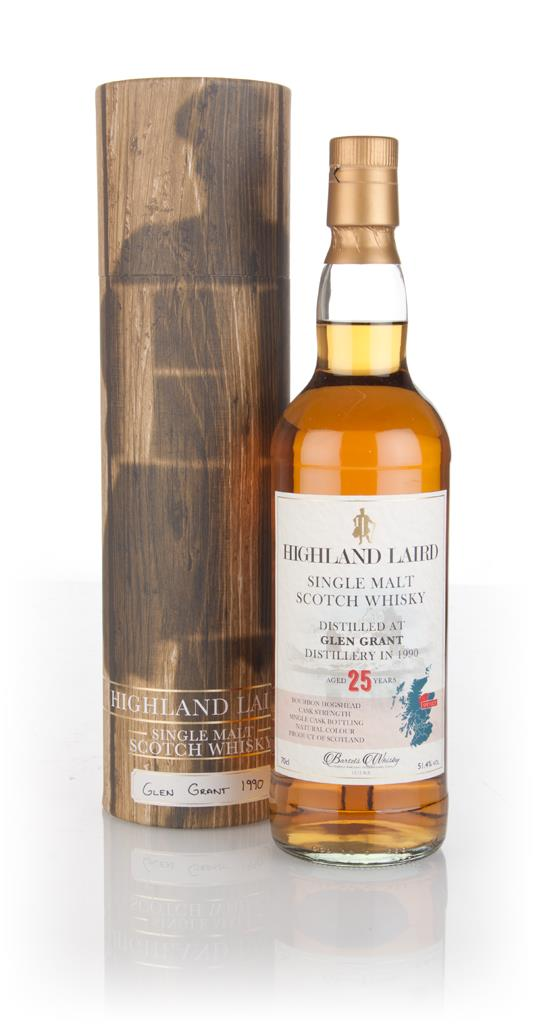 Glen Grant 25 Year Old 1990 - Highland Laird (Bartels Whisky) 3cl Samp Single Malt Whisky 3cl Sample