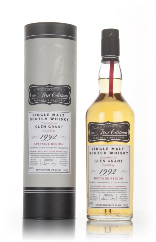 Glen Grant 25 Year Old 1992 (cask 13358) - The First Editions (Hunter Single Malt Whisky