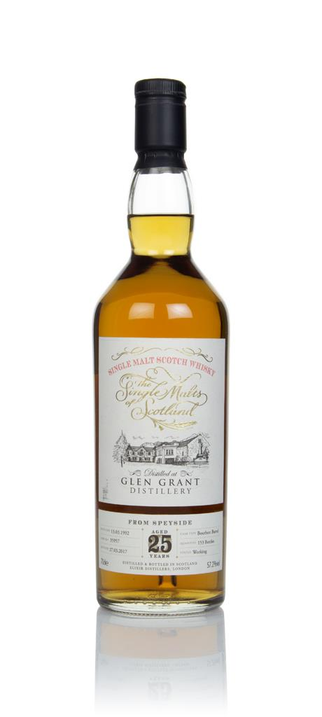 Glen Grant 25 Year Old 1992 (cask 35957) - The Single Malts of Scotlan Single Malt Whisky
