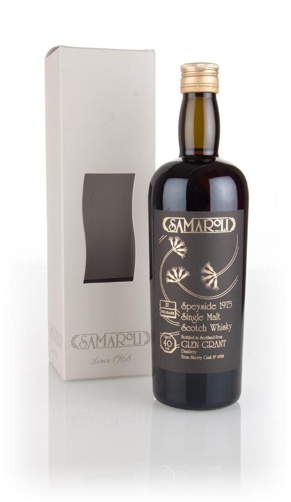 Glen Grant 40 Year Old 1973 (cask 6588) - 2nd Release - Samaroli 3cl S Single Malt Whisky 3cl Sample