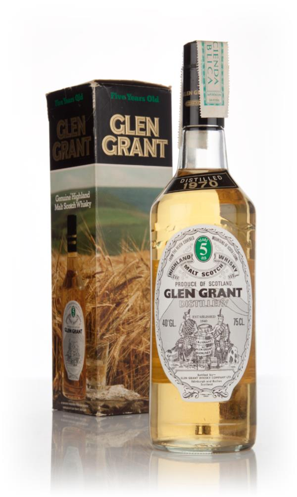 Glen Grant 5 Year Old (Boxed) - distilled 1970 Single Malt Whisky